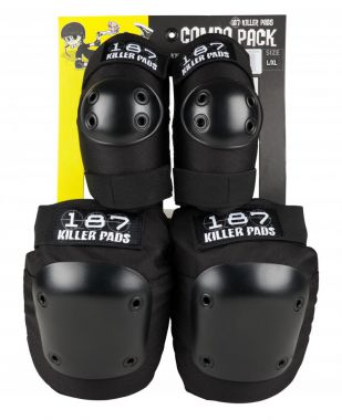 187 Killer Pads Combo Pack Knee & Elbow