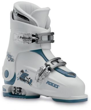 Roces Idea Up 6in1 adjustable Ski Boots White Teal
