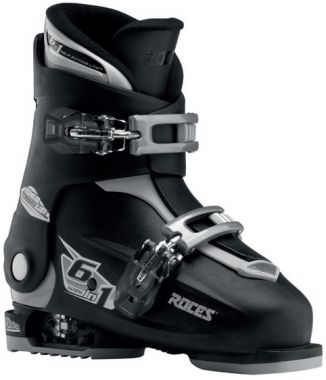 Roces Idea Up 6in1 adjustable Ski Boots Black/Silver