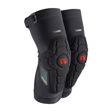 G-Form Pro Rugged Knee Pads Black/Red