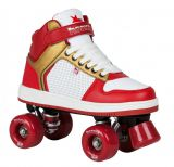Rookie Hype Hi Top Trainer red gold